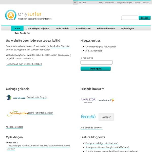 Support des rôles landmark ARIA et éléments sectionnants HTML5 par les lecteurs d'écran - Blog - AnySurfer