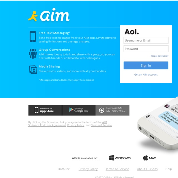 AOL Lifestream : Login