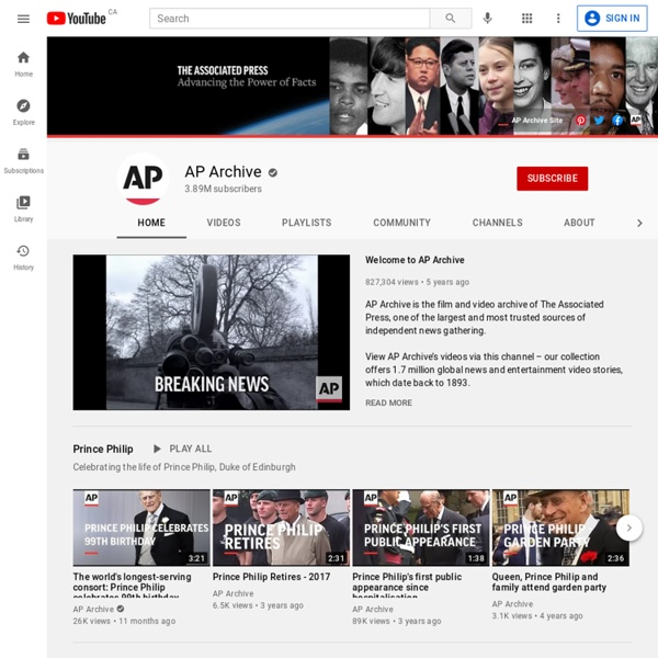 AP Archive - You Tube