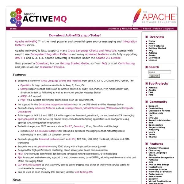 Apache ActiveMQ ™