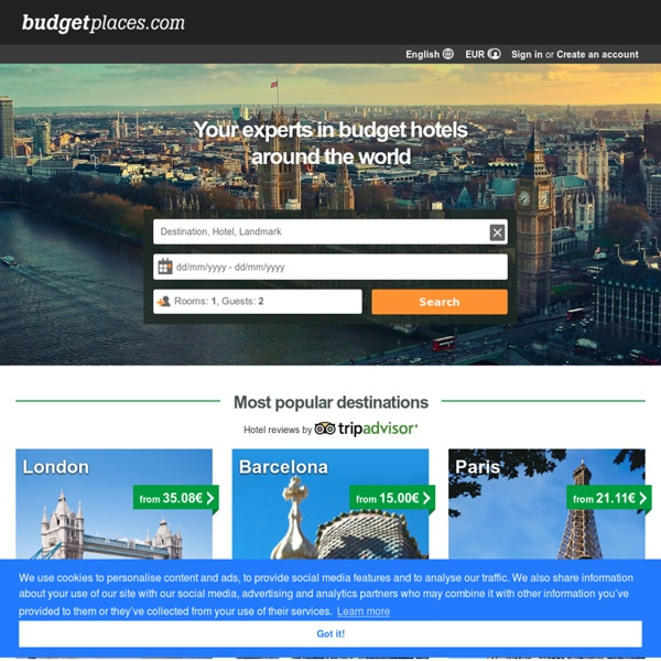 Cheap Hotels, Hostels, Bed and Breakfast and Apartments