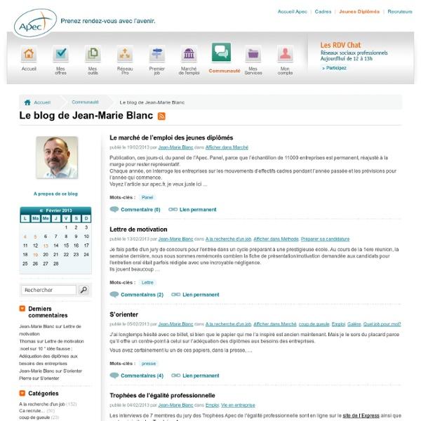 Apec.fr - Jeunes diplômés - Apec.fr : le Blog Expert