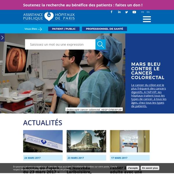 AP-HP-Portail Assistance Publique-Hôpitaux de Paris