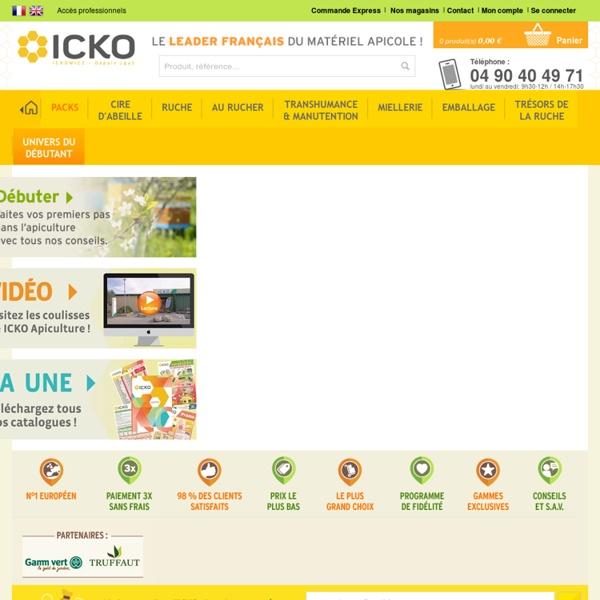 Toute l'apiculture est chez le leader français : Icko Apiculture
