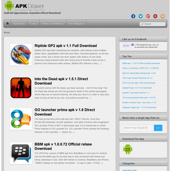 Android Apps,Games, launchers Direct Download