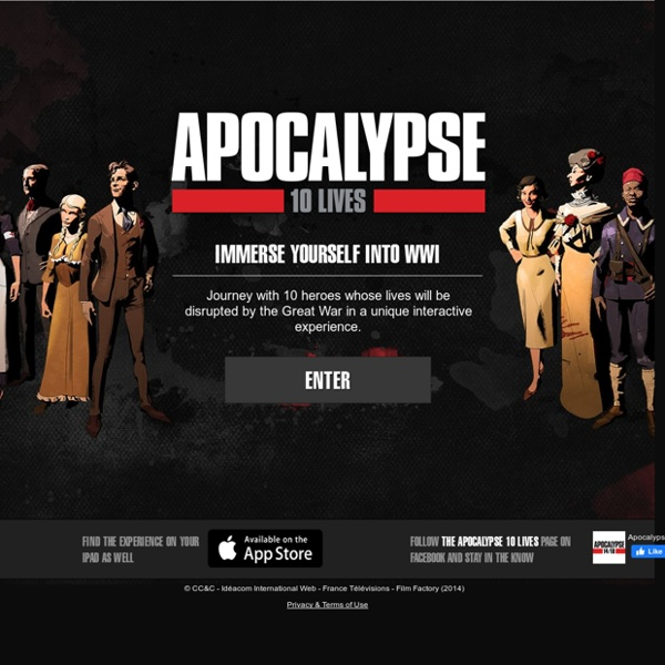 Apocalypse - 10 destins