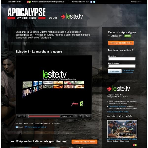 Apocalypse vu par lesite.tv - ©2010
