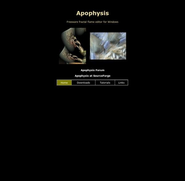 Apophysis.org