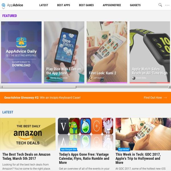 iPad/iPhone App News and Reviews
