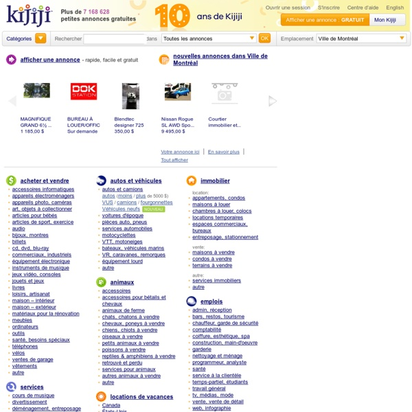 Rencontre kijiji france