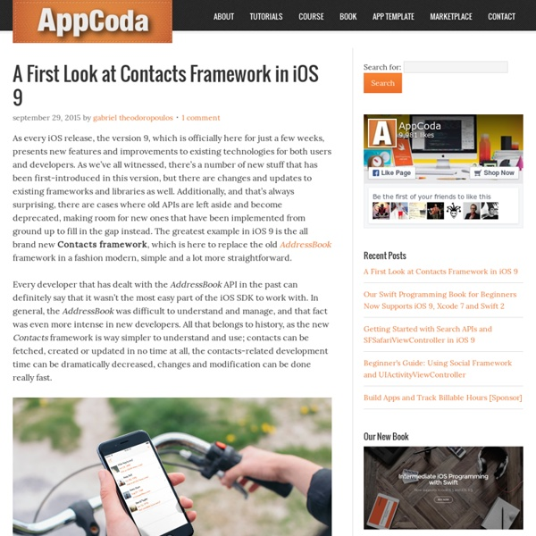 AppCoda - Learn iOS Programming