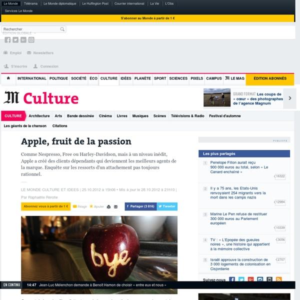 Apple, fruit de la passion