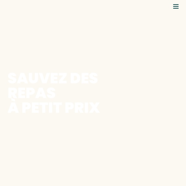 Too Good To Go - L'application qui lutte contre le gaspillage alimentaire !