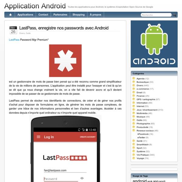 Application Android et application google play, l'annuaire des logiciels sur système d'exploitation Google Android