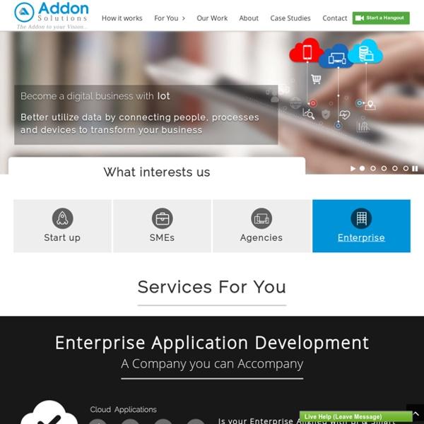 Web Design and Development, Mobile Application Developer - eCommerce Solutions Provider Company in India