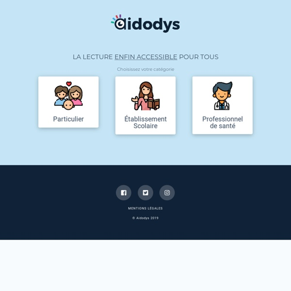 Aidodys - Solution innovante pour la dyslexie, dyspraxie, dysphasie.