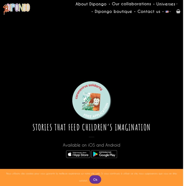 L'application jeux créative pour enfants - Dipongo