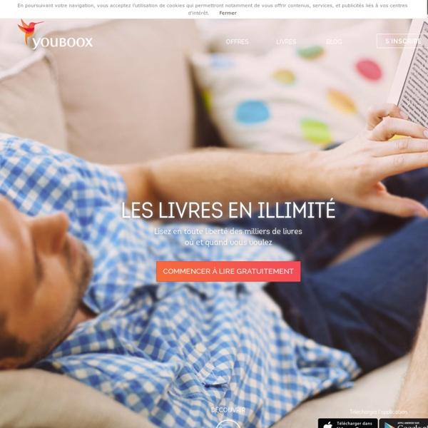 Youboox : l'accès gratuit aux livres numériques