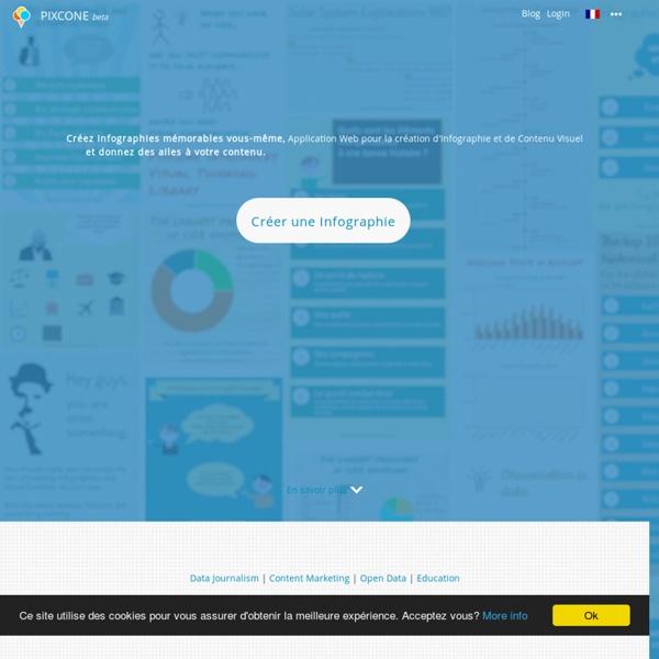 Application Web pour la création d'Infographie et de Contenu Visuel By PixCone