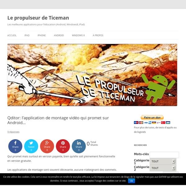 Qditor: l'application de montage vidéo qui promet sur Android…