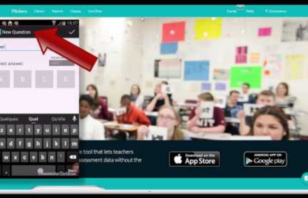 Application Plickers - Utilisation scolaire