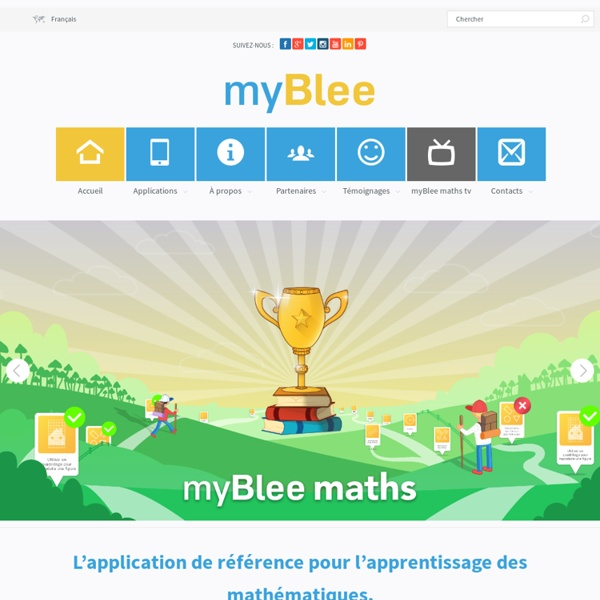 MyBlee application éducative