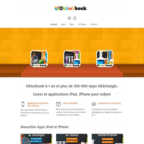 Livres et applications iPad - iPhone pour enfantOkiwibook