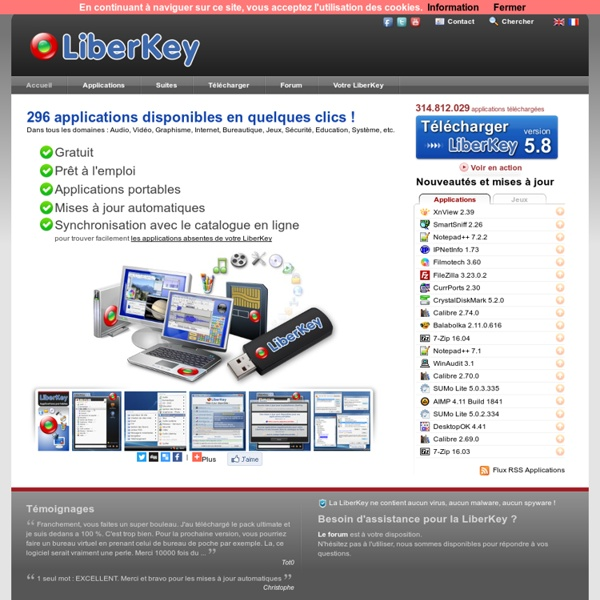 LiberKey - Applications Portables