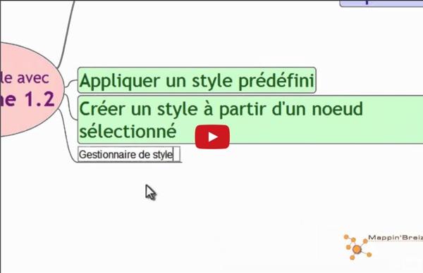 Créer, éditer et appliquer des styles avec Freeplane 1.2