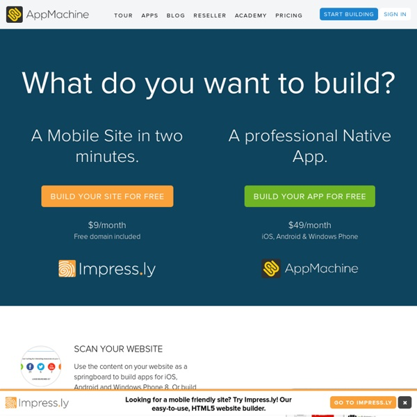 AppMachine: The next step in app building
