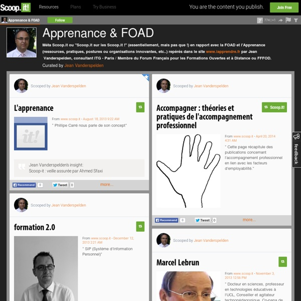 Apprenance & FOAD