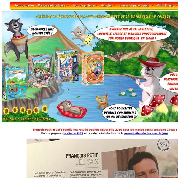 Apprendre en s'amusant par le jeu avec François Petit et Cat's Family