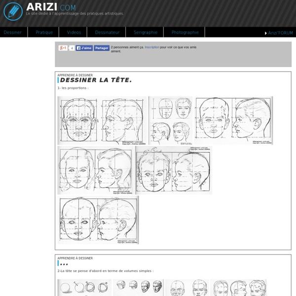 Apprendre-dessiner-tete-visage