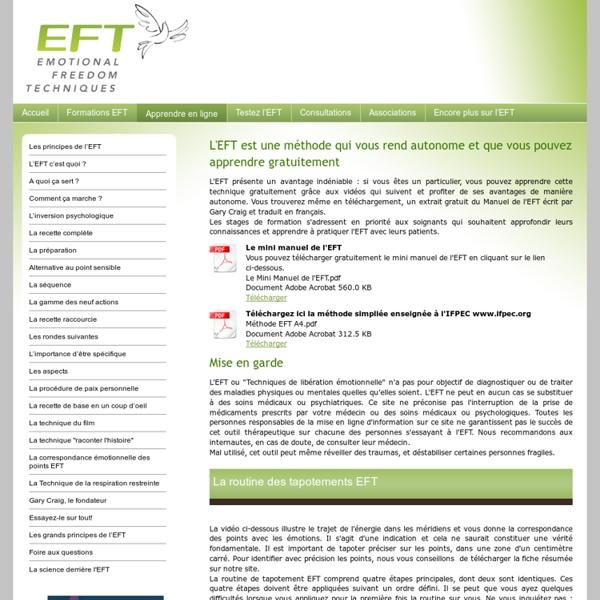 Apprendre en ligne - EFT : le portail francophone