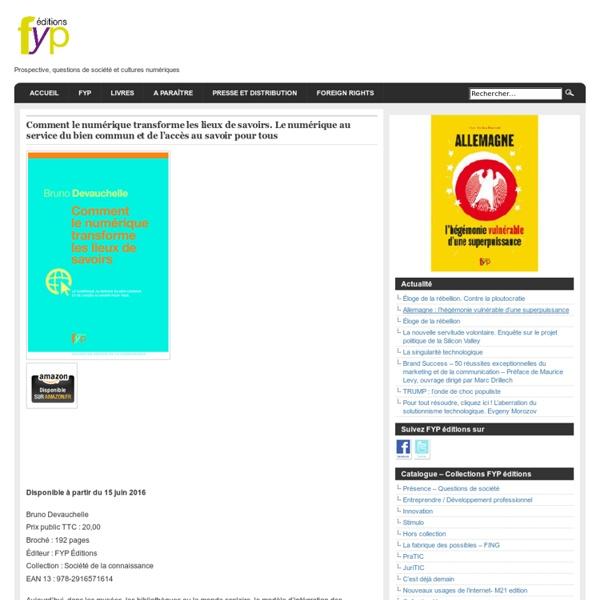 Apprendre avec internet, bien commun, accès au savoir,Génération Y