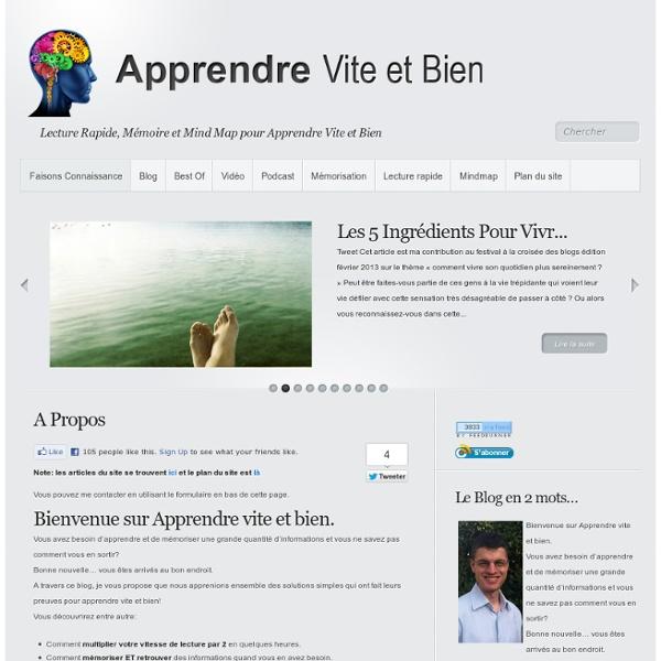 Lecture Rapide, Mémoire et Mind Map pour Apprendre Vite et Bien