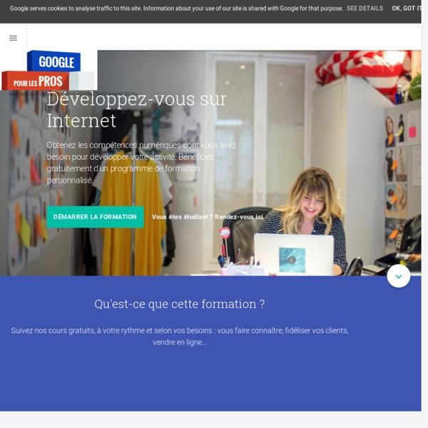 Apprendre le Marketing Digital - Formation gratuite de Google