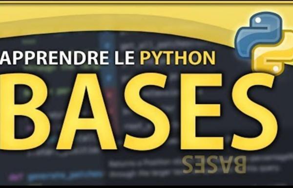 APPRENDRE LE PYTHON #1 ? LES BASES & PREREQUIS