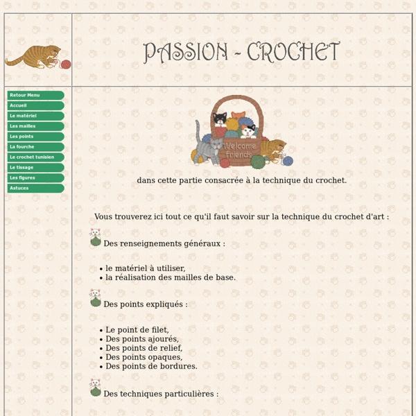 Apprendre la technique du crochet avec Passion-Crochet