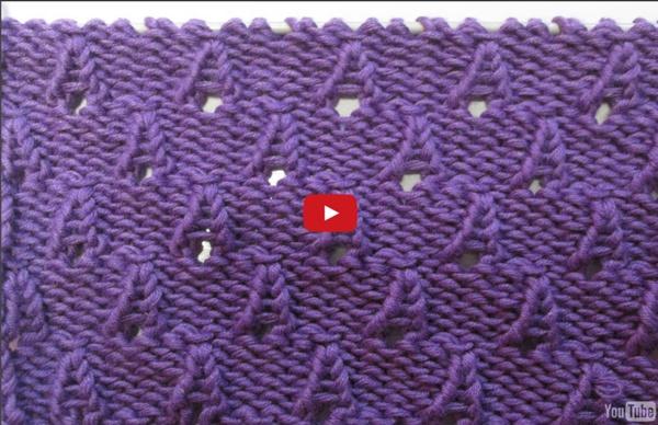 tuto tricot apprendre a tricoter de petits cones ou cornet. Black Bedroom Furniture Sets. Home Design Ideas