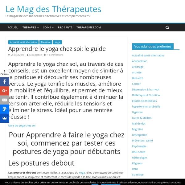 apprendre le yoga chez soi le guide pearltrees. Black Bedroom Furniture Sets. Home Design Ideas