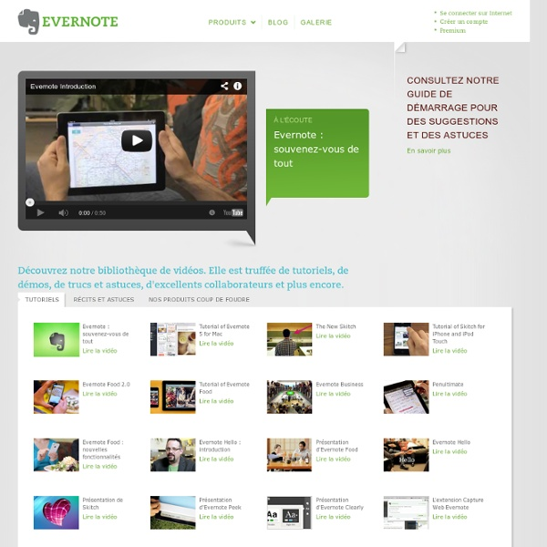 comment fonctionne evernote