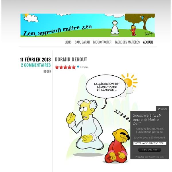 Bande Dessinée humoristique Zen en ligne