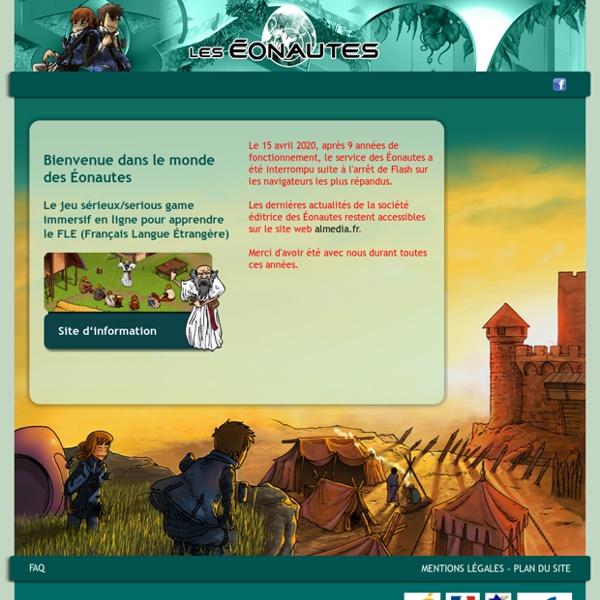 Les Éonautes : serious game d'apprentissage de la langue française