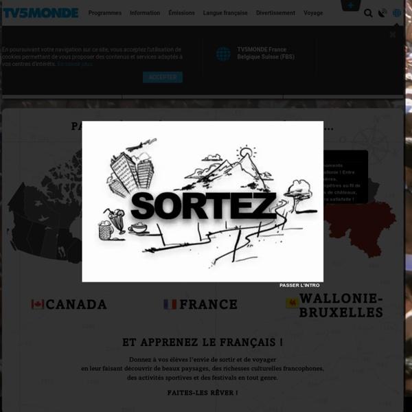 Ça bouge ! Site web éducatif - Apprentissage du français - fiches pédagogiques