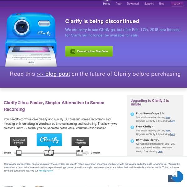 A brand new approach to screenshot software