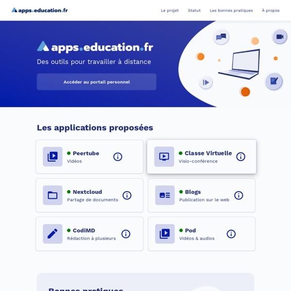 Apps.education.fr : une nouvelle plateforme mise en place par L'Education Nationale pour enseigner à distance