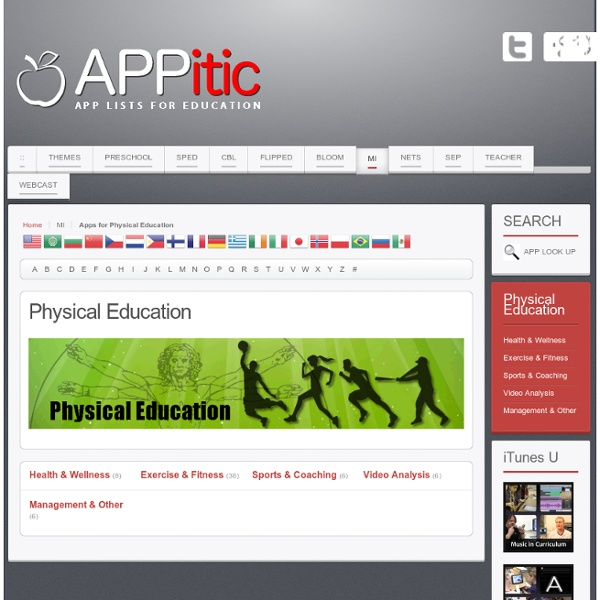 Apps for Physical Education