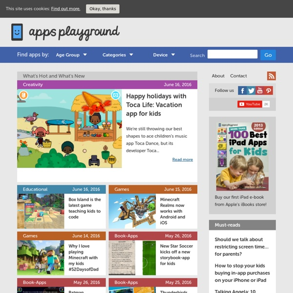 Apps Playground - Helping you find the best apps for kids