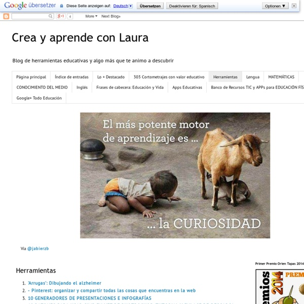 Crea y aprende con Laura: Herramientas